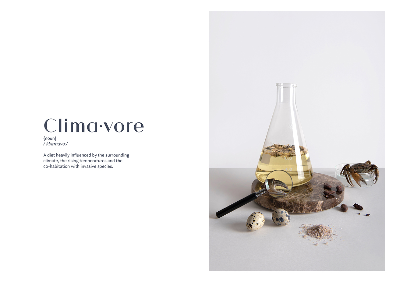 Evolution of the Omnivore an Experiment of Speculative Gastronomy Exploring human diets in a rapidly transforming planet