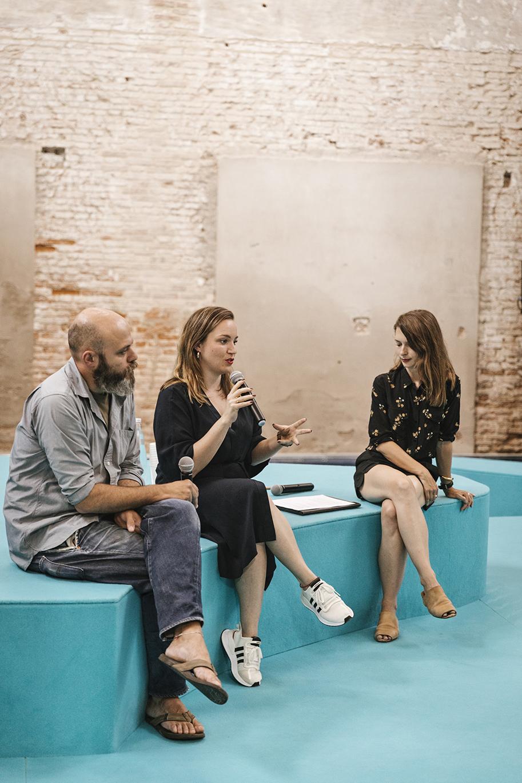 Public Speaking at Talk Aperitivo Venice